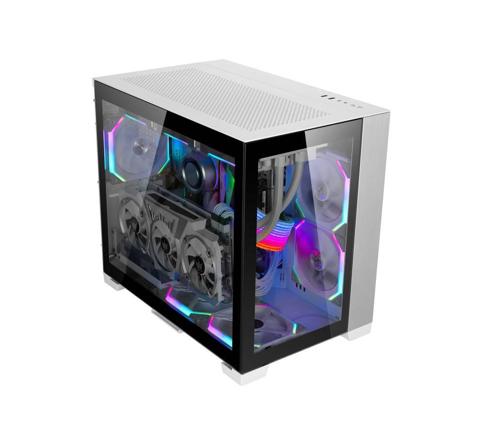 【取寄せ商品:要納期確認】 Lian Li O11D MINI PCIe 3.0 VERTICAL GPU BRACKET KIT White