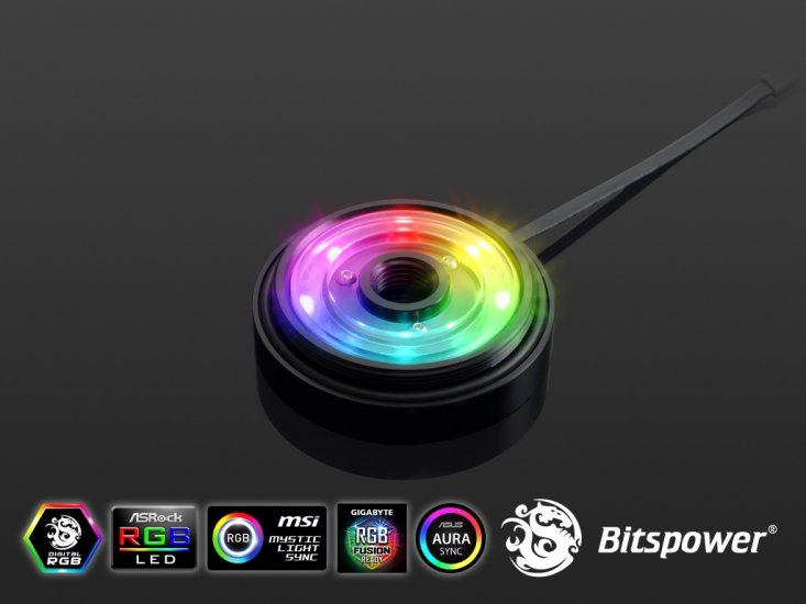 "Bitspower Z-CAP I With G1/4"" x1 Digital RGB"