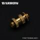 """BARROW Dual G1/4"""" Adjustable Aqua Link Pipe (22-31MM) Gold"""