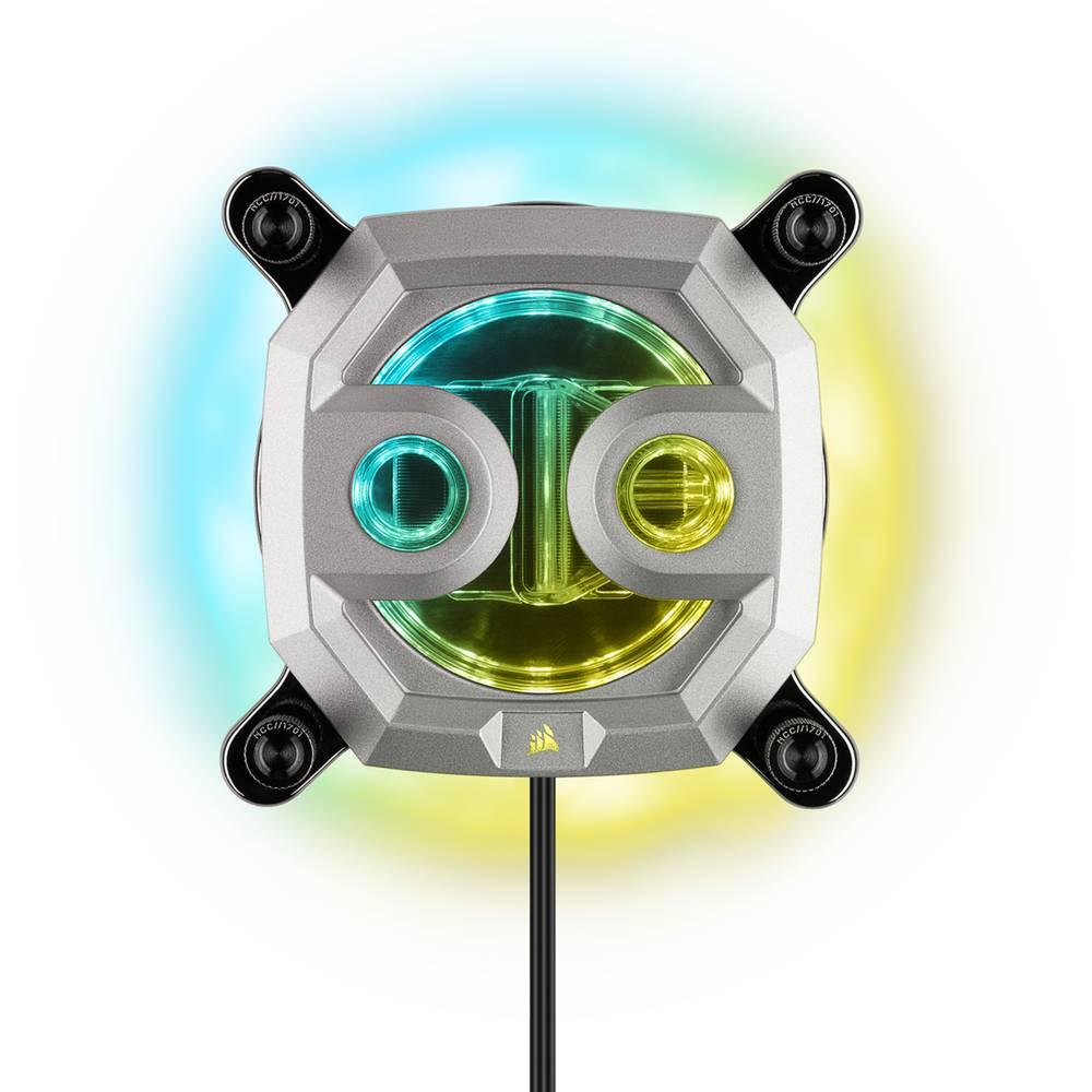 CORSAIR Hydro X Series XC7 RGB CPU Water Block Gen2 (1200/AM4) - Silver