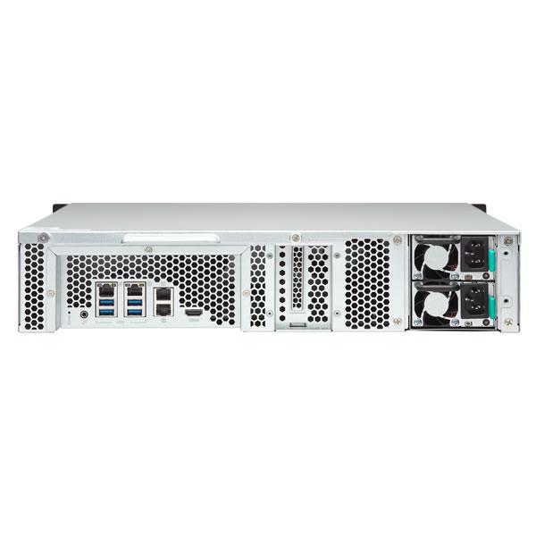 QNAP TS-1253BU-RP-4G 8ベイ ラックマウントNASキット