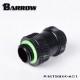 "BARROW Dual G1/4"" Adjustable Aqua Link Pipe (22-31MM) Black"
