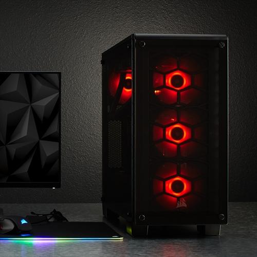CORSAIR SP120 RGB LED Three Pack (CO-9050061-WW) ファン3個+コントローラ+ハブ セット