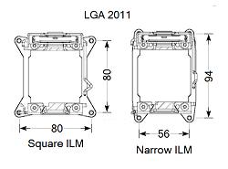 Thermalright Narrow ILM Kit
