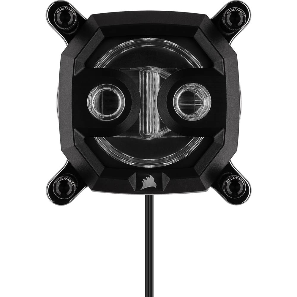 CORSAIR Hydro X Series XC9 RGB CPU Water Block Gen2 (2066/sTRX4) - Black