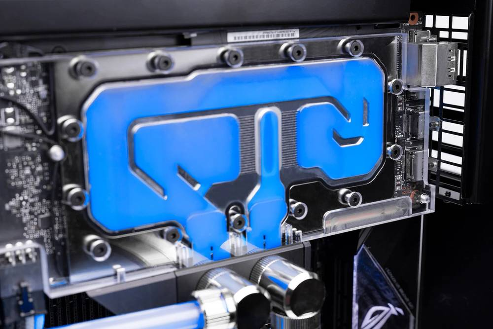 EK WaterBlocks EK-Loop Vertical GPU Holder - Shifted