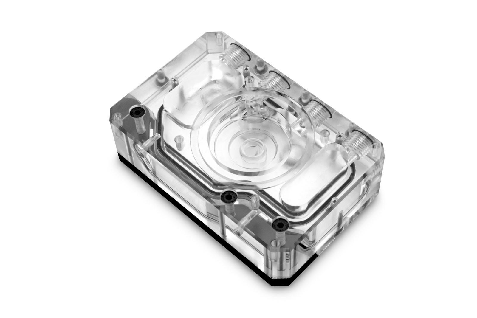 EK WaterBlocks EK-Quantum Kinetic FLT 80 D5/DDC Body D-RGB - Plexi