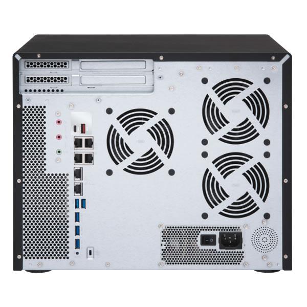 QNAP TS-1677X-1700-16G 3.5インチ12台+2.5インチ4台搭載可能