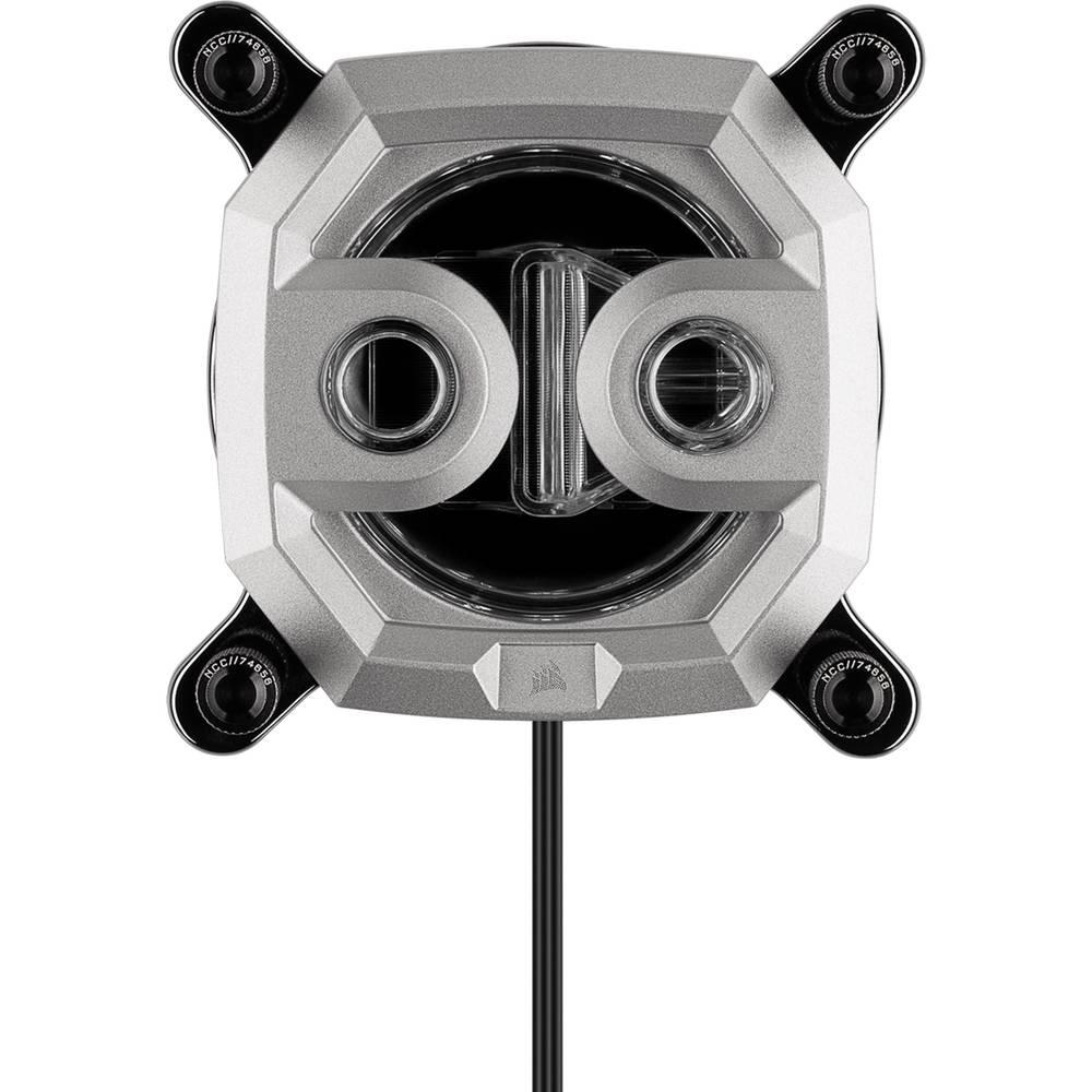 CORSAIR Hydro X Series XC9 RGB CPU Water Block Gen2 (2066/sTRX4) - Silver