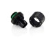 "Bitspower G1/4"" Matt Black Compression Fitting ID3/8-OD1/2"