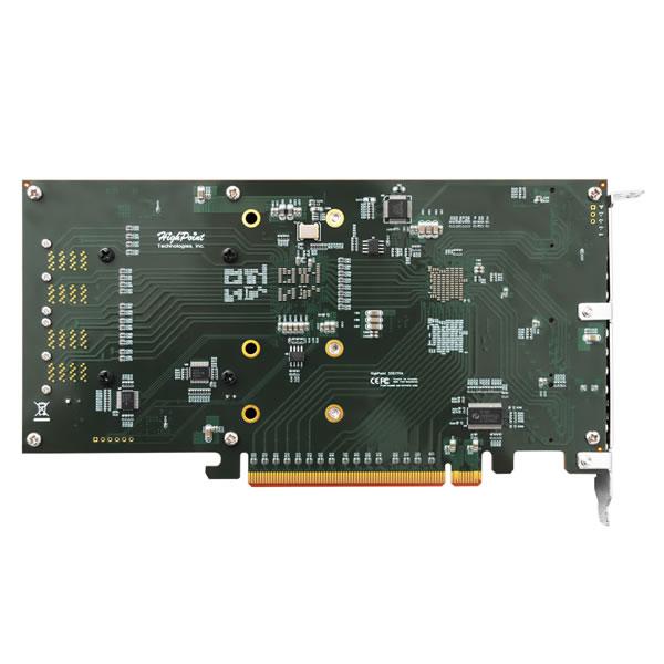 HighPoint SSD7110 NVMe M.2 SSD、SAS/SATA RAID コントローラー