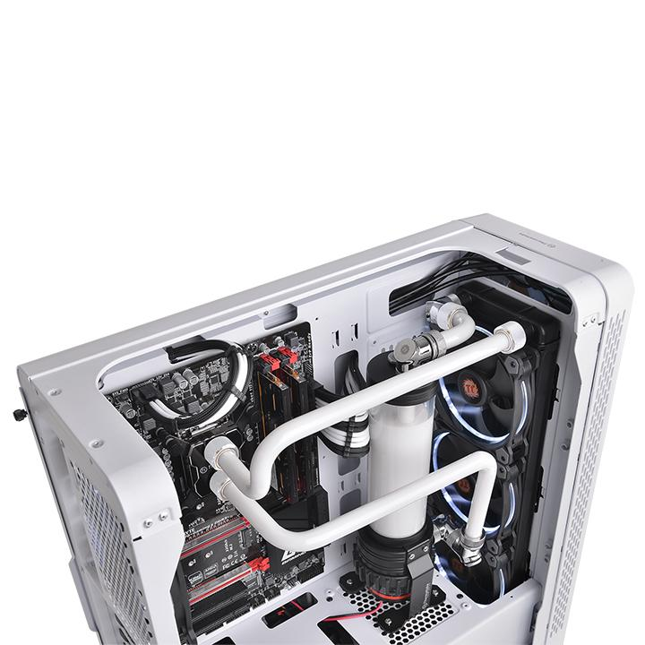 Thermaltake Pacific C-Pro G1/4 PETG 16mm OD 6 Pack - White - (CL-W211-CU00WT-B)