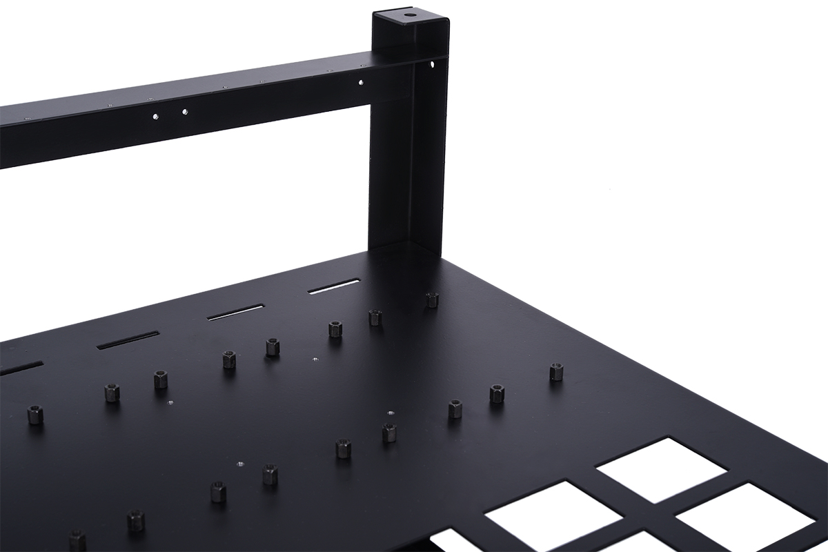 Alphacool Mining Series - mining rig 12 (water cooling ready) - black