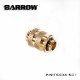 "BARROW Dual G1/4"" Adjustable Aqua Link Pipe (16-22MM) Gold"