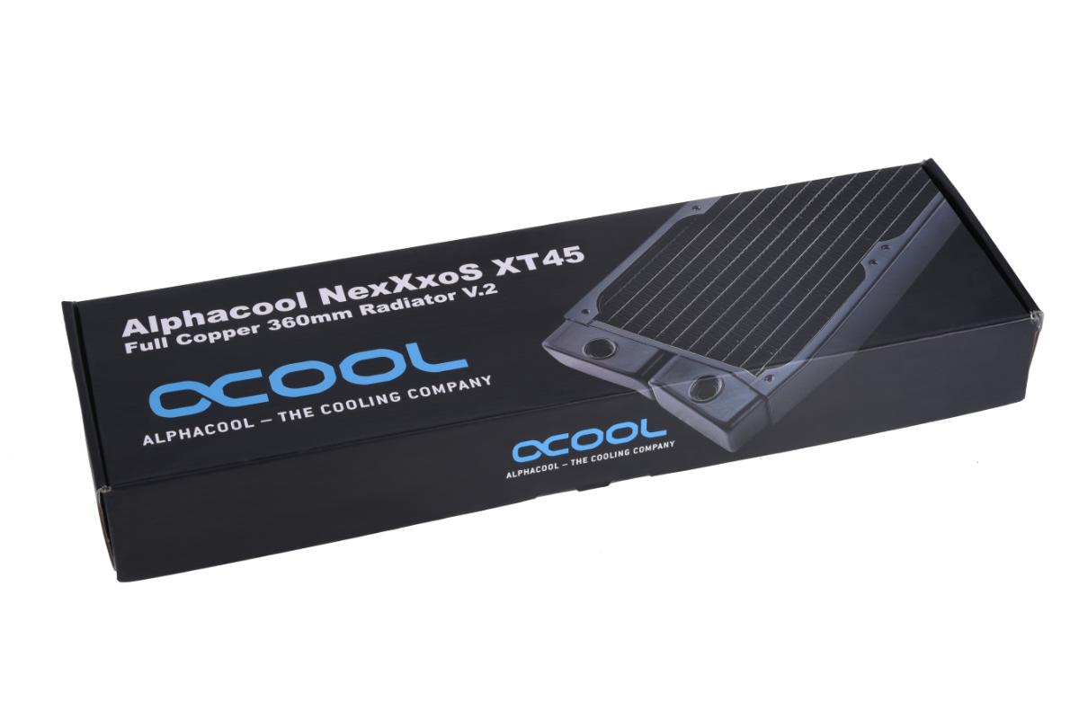 Alphacool NexXxoS XT45 Full Copper 360mm radiator V.2