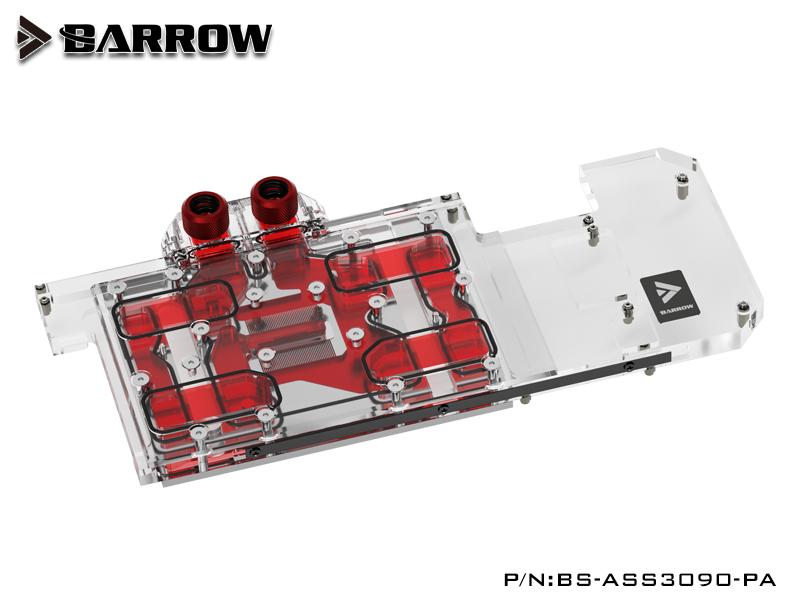 BARROW LRC2.0 full coverage GPU Water Block for ASUS STRIX 3090 Aurora