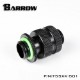 "BARROW Dual G1/4"" Adjustable Aqua Link Pipe (16-22MM) Black"