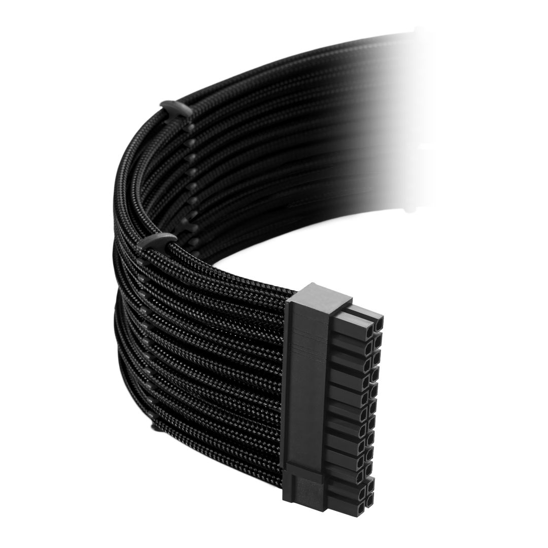 CableMod Classic ModMesh C-Series Cable Kit for Corsair AXi, HXi & RM - BLACK (CM-CSI-CKIT-NKK-R)
