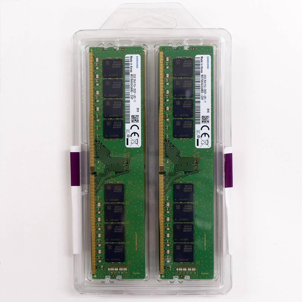 【取寄せ商品:要納期確認】 aiutoセレクトメモリー SAMSUNG純正 DDR4-2933 32GBx4枚組 128GB KIT