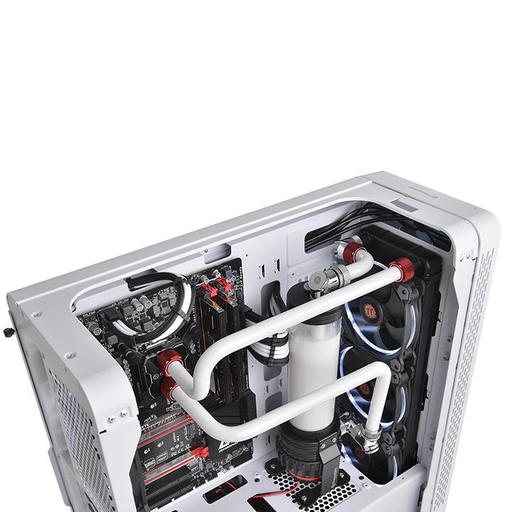 Thermaltake Pacific C-Pro G1/4 PETG 16mm OD Compression - Red - (CL-W209-CU00RE-A)