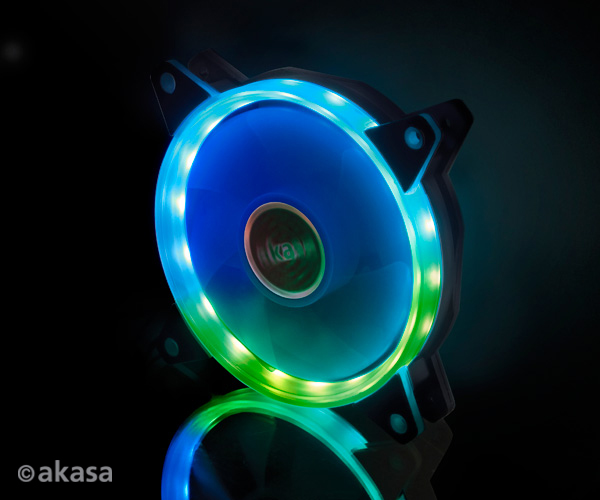 akasa VEGAS AR7 Addressable RGB LED cooling fan
