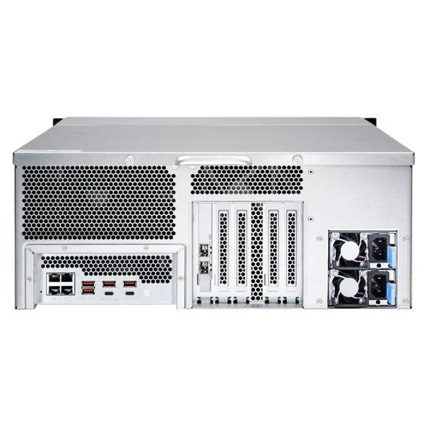 QNAP TS-2483XU-RP-E2136-16G 24ベイ ラックマウントNASキット