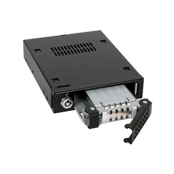ToughArmor MB991IK-B 2.5インチSATA&SAS HDD/SSD搭載用モバイルラック ICYDOCK
