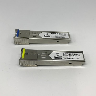 SFPモジュール&光ファイバー ケーブルセット