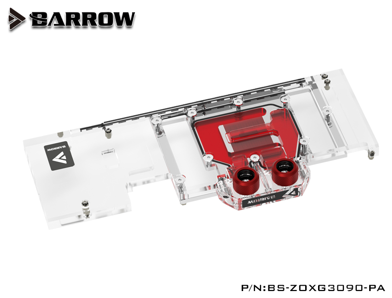 Barrow LRC2.0 full coverage GPU Water Block for ZOTAC 3090 X GAMING Aurora
