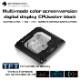 Barrowch INTEL platform Color screen version of digital display CPU water block