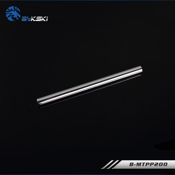 Bykski B-MTPP Hyun Silver Fine (12X14) metal water pipe 200mm