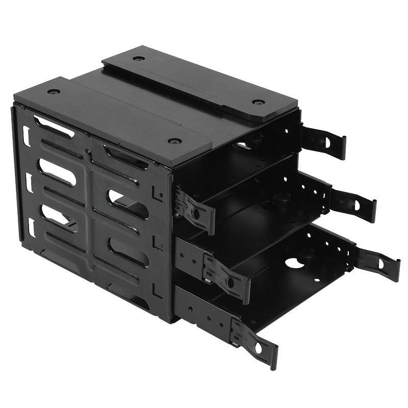 NANOXIA Deep Silence 3-bay HDD cage