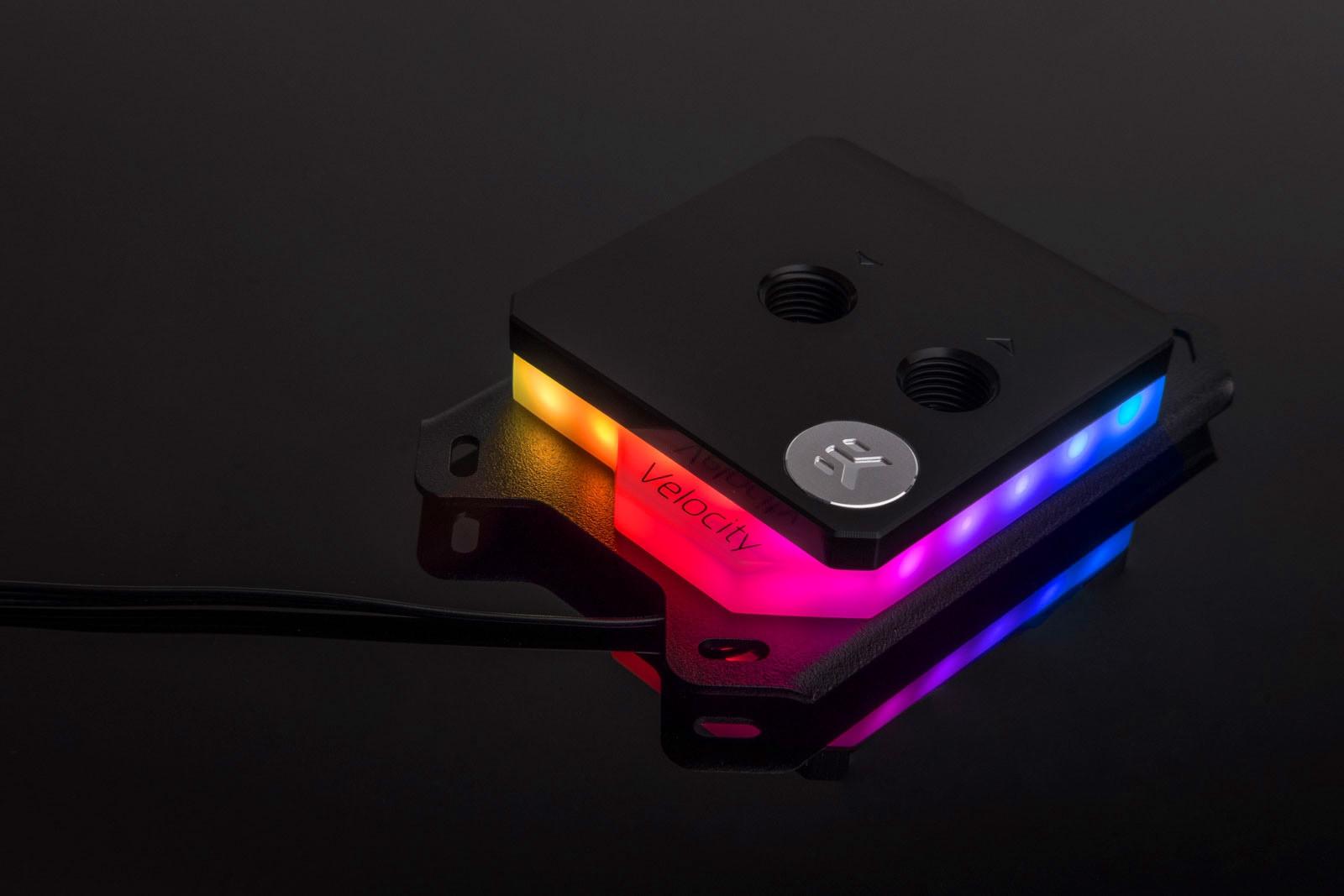 EK WaterBlocks EK-Quantum Velocity D-RGB - AMD Nickel + Acetal
