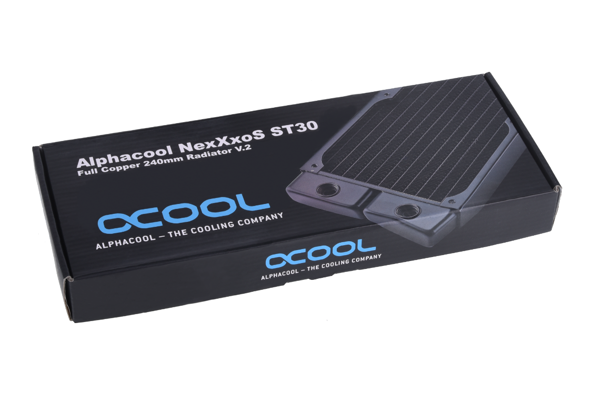 Alphacool NexXxoS ST30 Full Copper 240mm radiator V.2