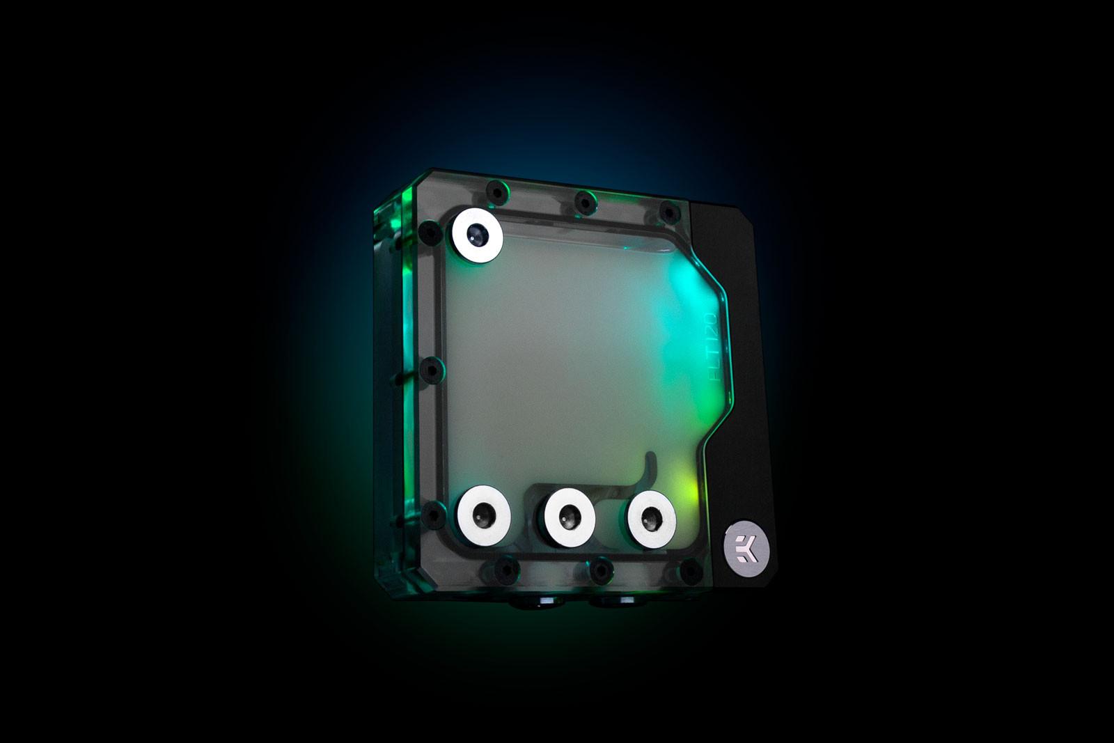 EK Water Blocks EK-Quantum Kinetic FLT 120 DDC PWM D-RGB - Plexi