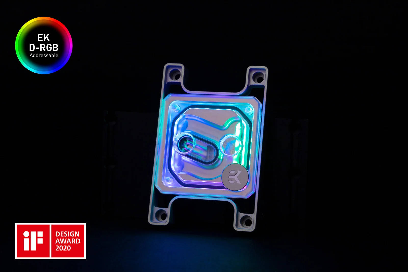EK WaterBlocks EK-Quantum Magnitude D-RGB - AM4 Nickel + Plexi