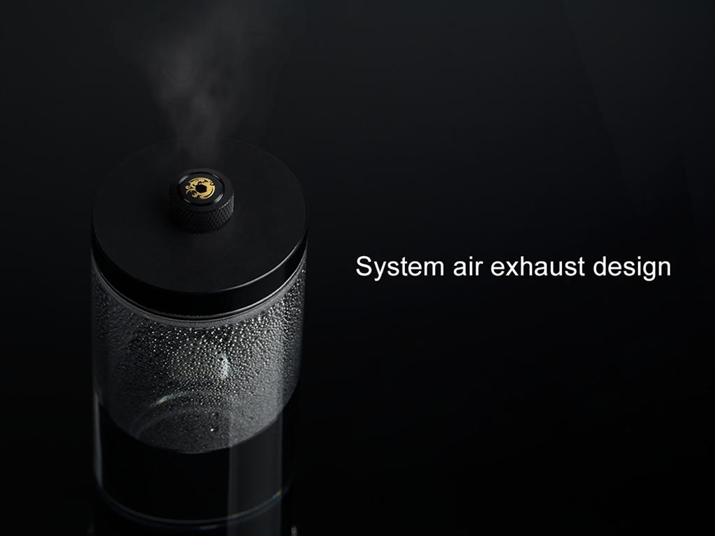 Bitspower automatic air-exhaust fitting version (Matt Black)