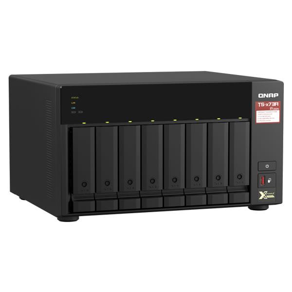 QNAP TS-873A-8G 2.5/3.5インチ 8台搭載可能