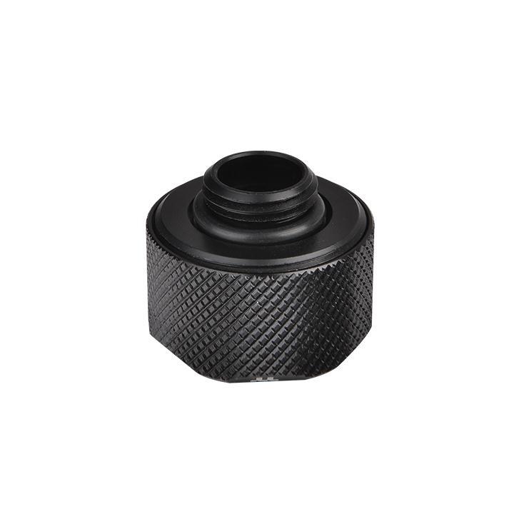Thermaltake Pacific C-Pro G1/4 PETG 16mm OD Compression - Black - (CL-W214-CU00BL-A)
