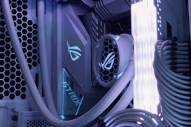 ASUS ROG STRIX LC 360 RGB White Edition