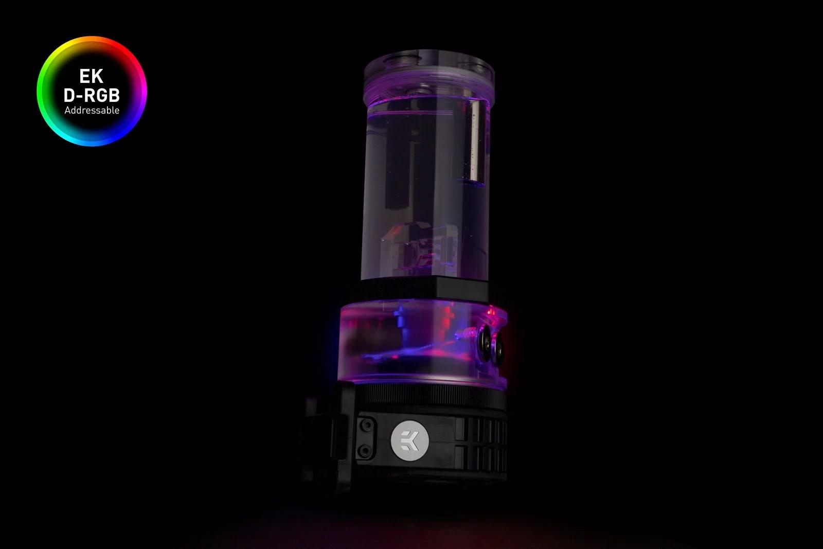 EK WaterBlocks EK-Quantum Kinetic TBE 200 D5 Body D-RGB - Plexi