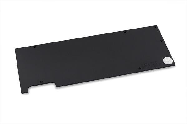 EK Water Blocks EK-FC1080 GTX Ti Backplate - Black