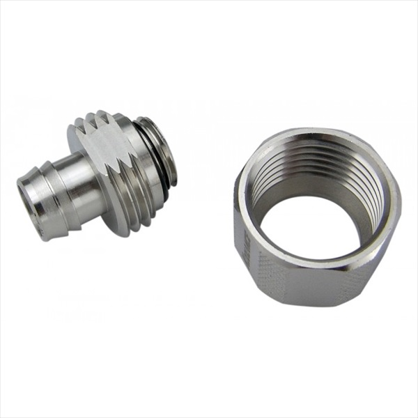 KOOLANCE FIT-V10X16 Compression Fitting for 10mm x 16mm (3/8in x 5/8in), G1/4 BSPP