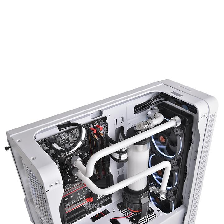 Thermaltake Pacific C-Pro G1/4 PETG 16mm OD 6 Pack - Chrome - (CL-W213-CU00SL-B)