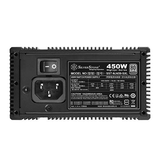 SilverStone Nightjar NJ450-SXL SFX-Lファンレス電源