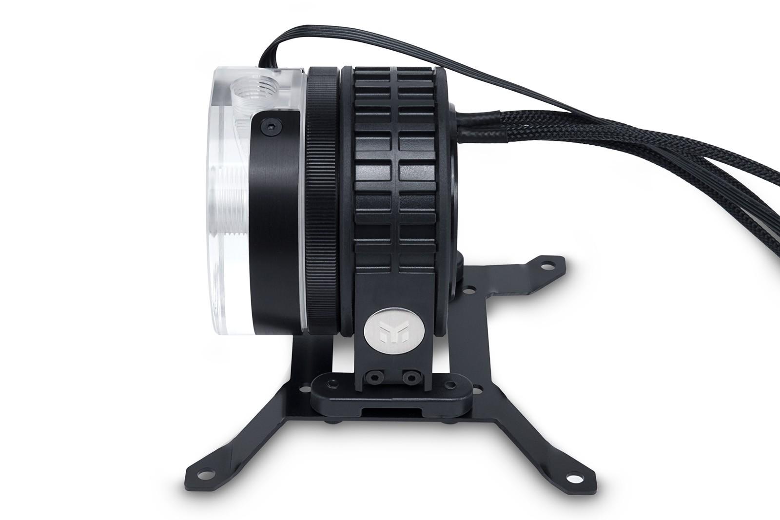 【生産完了】 EK WaterBlocks EK-XTOP Revo D5 RGB PWM - Plexi (incl. sl. pump)