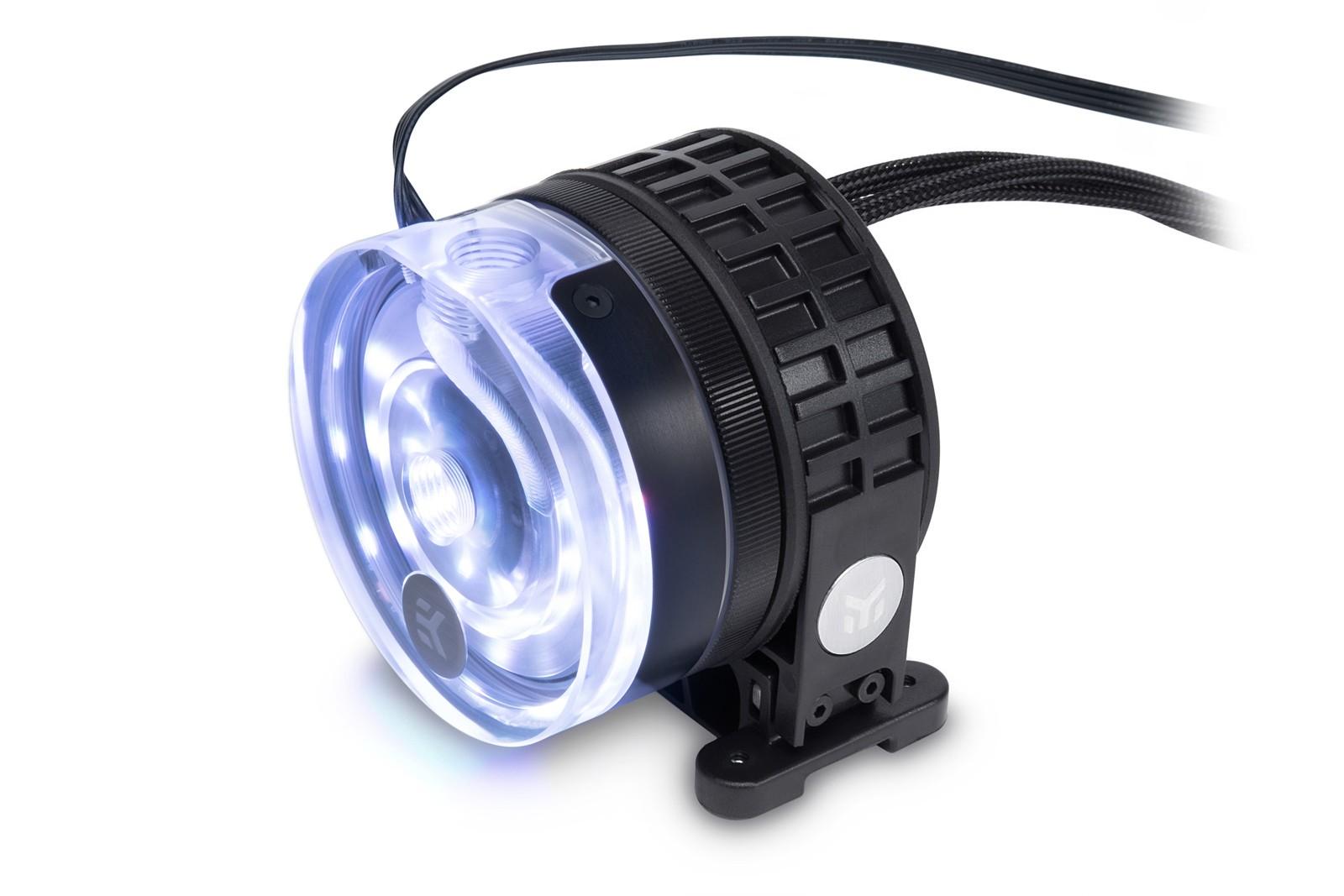 EK WaterBlocks EK-XTOP Revo D5 RGB PWM - Plexi (incl. sl. pump)