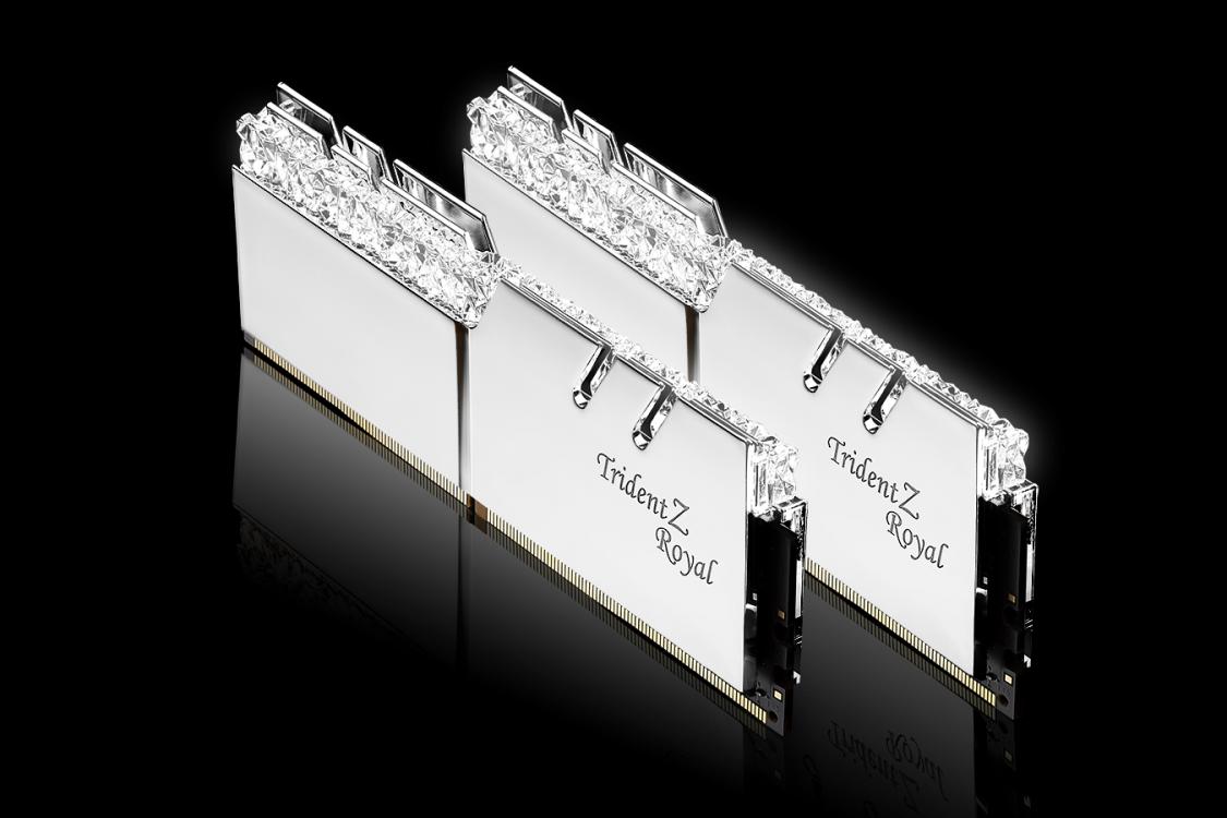 G.SKILL Trident Z Royal DDR4-3200 8GBx2 Silver (F4-3200C16D-16GTRS)