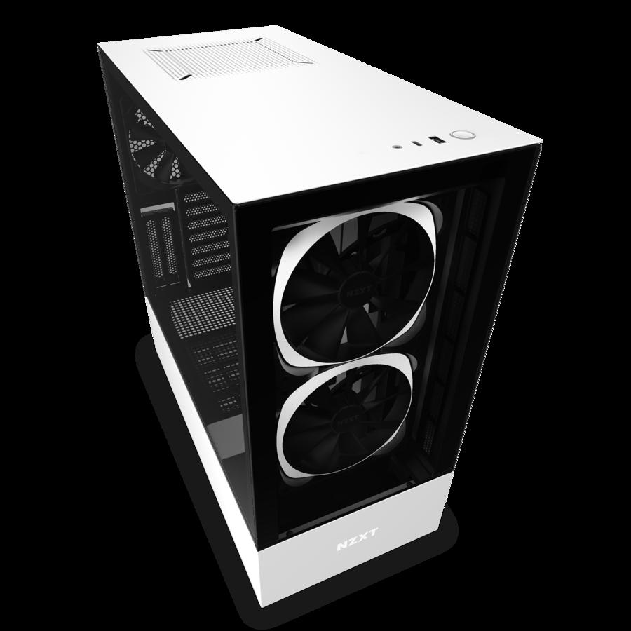 NZXT H510 Elite マットホワイト/ブラック (CA-H510E-W1)