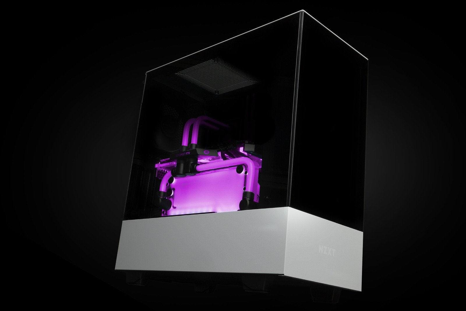 EK Water Blocks EK-Quantum Volume FLT 120 D-RGB - Plexi